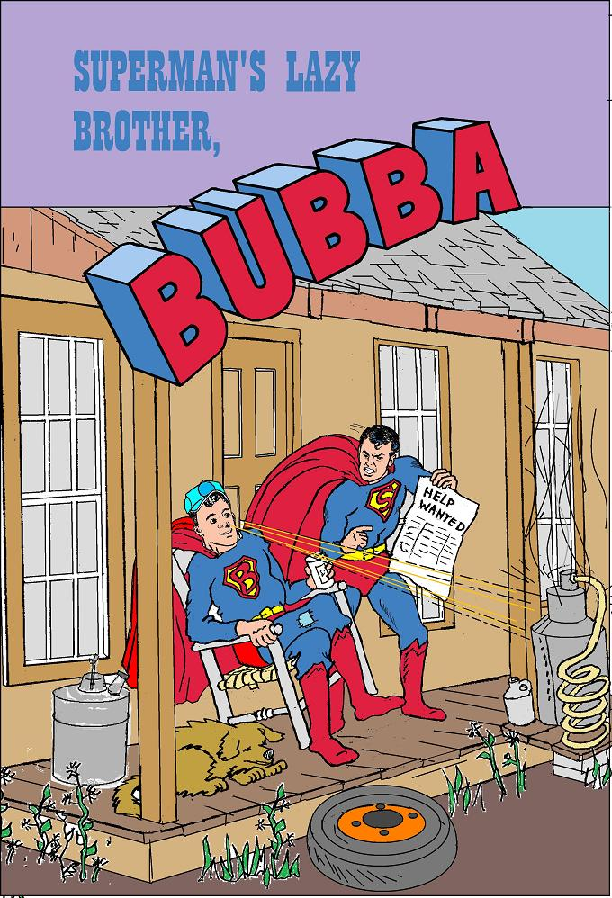Bubba comic cover